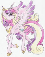 Princess Cadance by Matsuban
