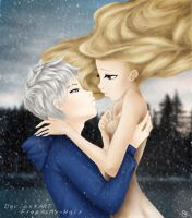Jack Frost x Annalise OC by FreeAsMy-Hair