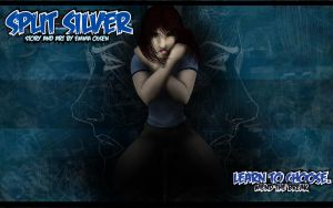 Split Silver wallpaper thing by avaunt