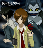 Death Note Fanart by the88cherryice