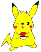 When Stripes was a Pikachu by Pikachu-Fans