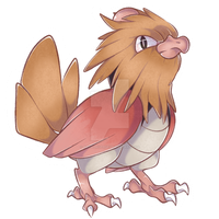 021 - Spearow by RuizaUniverse