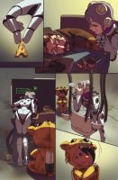 Fall Out Toy Works issue 2 page 16 by DeevElliott