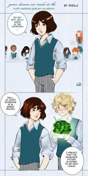 Greendreams are made at the North Westeros Academy by Sirilu