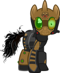 Guild Master Catharsis (Nightmare Night Suit) by Likonan