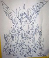Saint Michael and The Devil 01 by ppunker