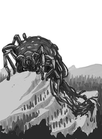 Ungoliant WIP by cheeny