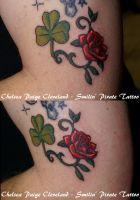 Clover and Rose- By Chelsea C. by SmilinPirateTattoo