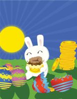 Easter Bunny 2009 by LionheartAce