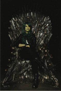 SFCC 2014 - Marvel | She Hulk on the Iron Throne by FifiMcFu