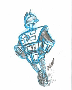 Gizmoduck by AlanSchell