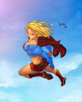 Supergirl by rubinh0