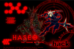 .hack G.U. Haseo Wallpaper by RetrenarLeiZephros