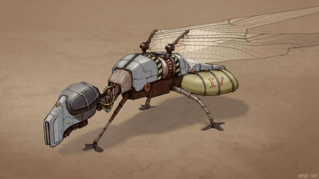 Ornithopter by Samize