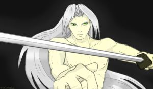 Ends of the Earth - Sephiroth by CrabOfDoom