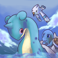Lapras rides by emptyvoids
