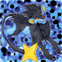 Luxray by PlushPaws