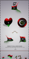 LIBYAN FLAG WORK HD by bakerGFXislamicDSner