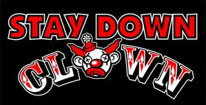 Stay Down Clown logo by JonBeanHastings