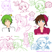 FOP Sketch Dump by Shimasteam2112