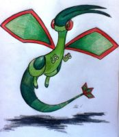 Flygon! by blue-jellybeans