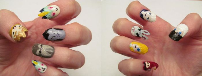 ROTG Nails by HungryWalrus