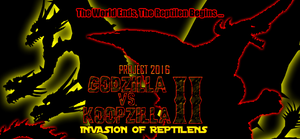 GvsKII - Invasion of Reptilens Teaser Poster by KingAsylus91