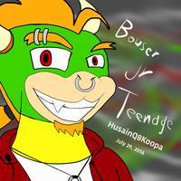 Bowser jr teenage by HuswserStar