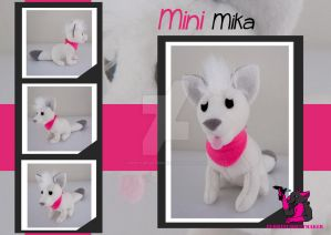 MINI Mika - Plush by FurryFursuitMaker
