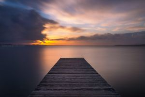 Calm with clouds by ivancoric
