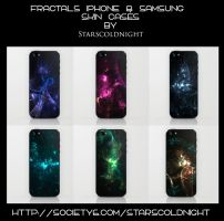 Iphone and Samsung skin cases by StarsColdNight