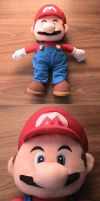 Super Mario Plushie by s325Diana