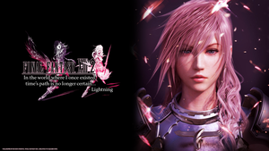 Final Fantasy XIII-2 WALLPAPER by RockInFighteR