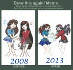 Draw This Again Meme by Rei-Catlang