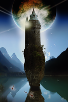 Wizard Tower of Abernakee by Alegion