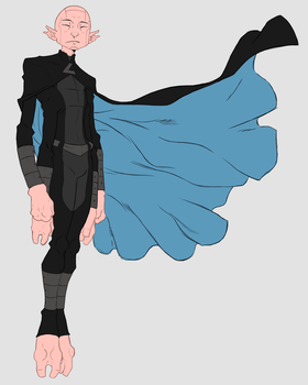 BvE Character Design: Elite Brother, Geno_Colored by sketchy-umi