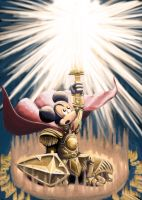 Mickey HolyKnight by XRENOU
