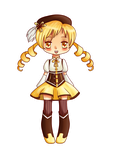 Mami chibi 2 by TaitRochelle