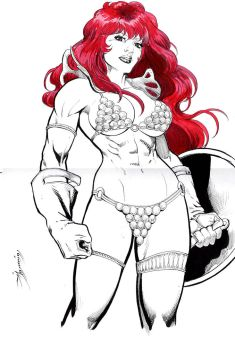 Red Sonja commission 10 by Xenomrph