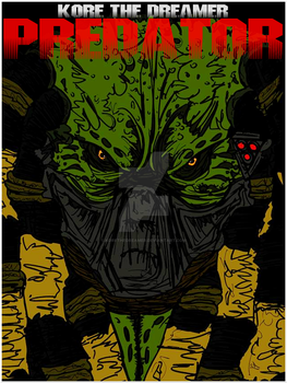 Predator (style couverture comics) by KoReTheDreamer