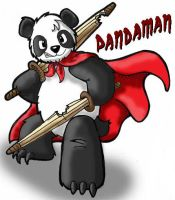 It's PandaMan by Kimmers4Ever