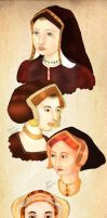 The Six Wives of Henry VIII by WisdomsPearl