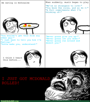 Rage Comic: McDonald Rolled by NinjaFalcon90