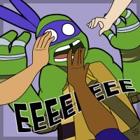 Grab Donnie's Face Day 2014 by TMNT-Raph-fan
