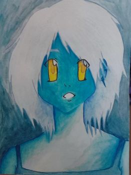 Blue Chick by Atlantean-chick