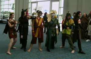 SDCC - Earth Kingdom Group by rashaka