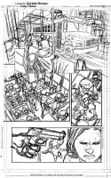 Teen Titans last sample page layout by geraldohsborges