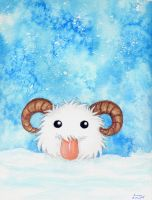 League of Legends: Poro by ArunaWolf