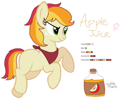 Apple Juice - MLP:FiM OC by zafara1222