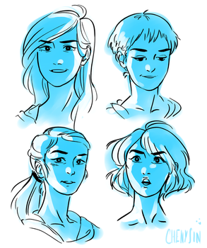 faces by InfinitEDawN